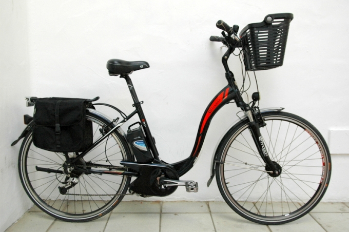 "Electrica city 28"" mujer"